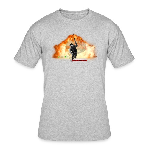 CptFive - Squad OUT - Men's 50/50 T-Shirt