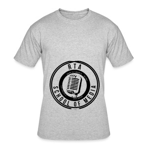 RTA School of Media Classic Look - Men's 50/50 T-Shirt