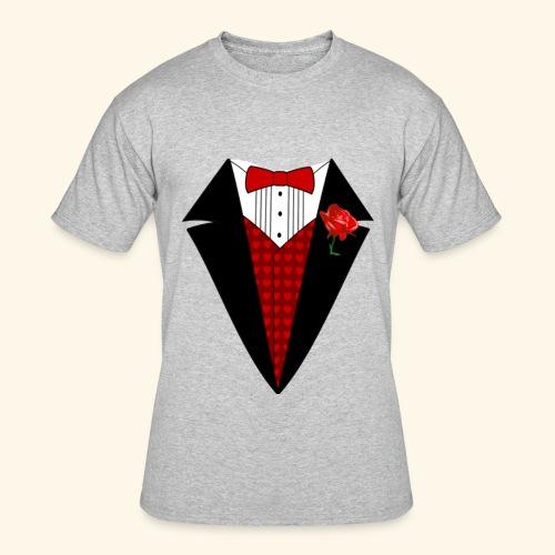 happy valentine Shirt for men - Men's 50/50 T-Shirt