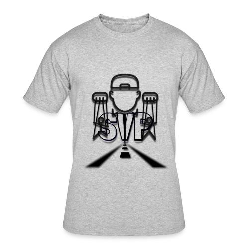 logo 2 4 - Men's 50/50 T-Shirt