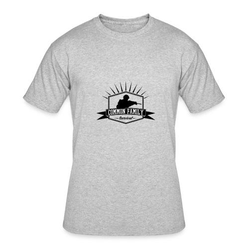 Common Family Survival YouTube Channel Logo - Men's 50/50 T-Shirt