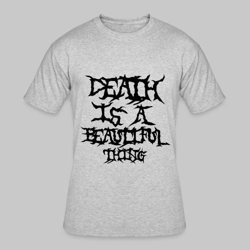 deathisabeautifulthing font - Men's 50/50 T-Shirt