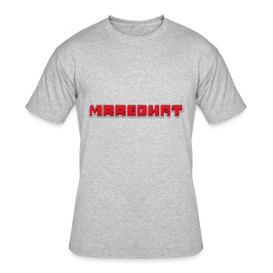 MrRedHat Plain Logo - Men's 50/50 T-Shirt