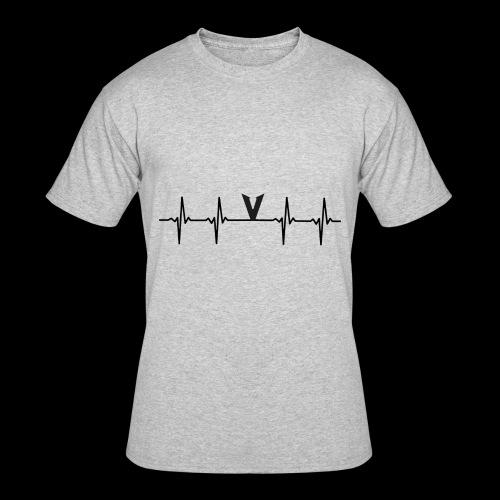 V EKG - Men's 50/50 T-Shirt