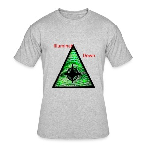 illuminati Confirmed - Men's 50/50 T-Shirt