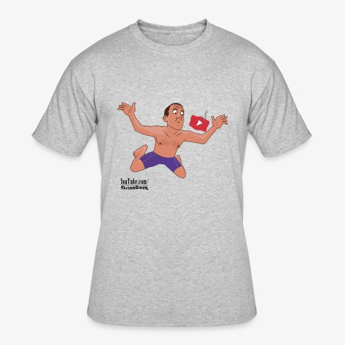 Nevermind parody for light shirts - Men's 50/50 T-Shirt