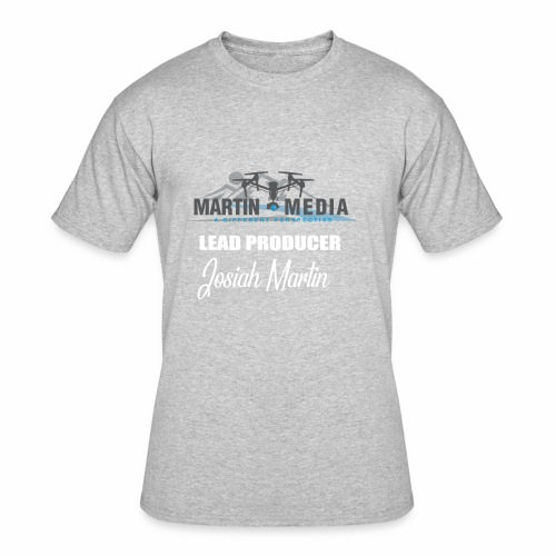 Martin Media Lead Producer - Men's 50/50 T-Shirt