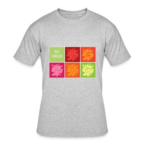 Fruit characters - Men's 50/50 T-Shirt