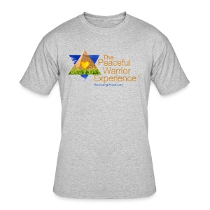 The Peaceful WarriorExperience t-shirt 2 - Men's 50/50 T-Shirt