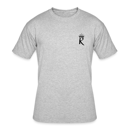 R with Crown - Men's 50/50 T-Shirt