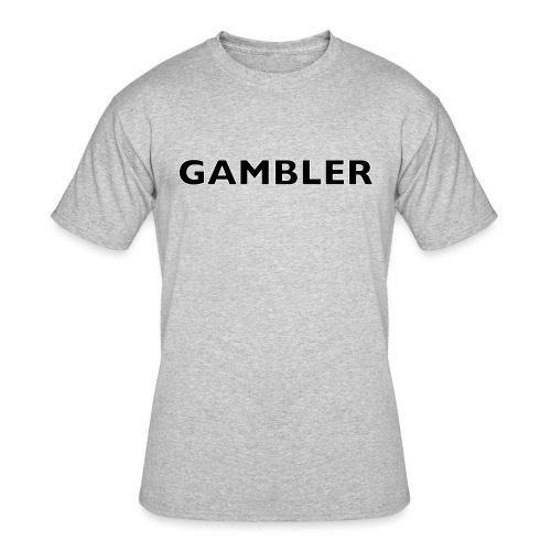 Gambler Gear - Men's 50/50 T-Shirt