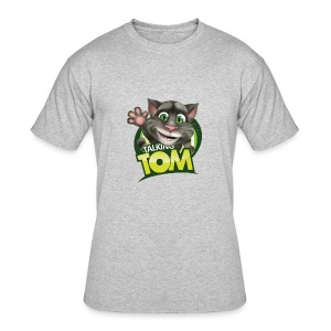 Talking_TOM_wave_preview_lowRes - Men's 50/50 T-Shirt