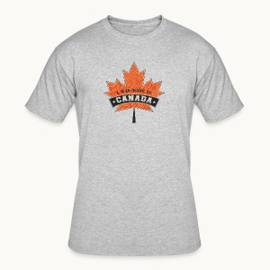 I WAS MADE IN CANADA -Linen -Carolyn Sandstrom - Men's 50/50 T-Shirt