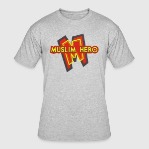 MUSLIM HERO - Men's 50/50 T-Shirt
