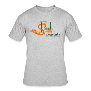 Flesh and Spirit Community T-Shirt - Men's 50/50 T-Shirt