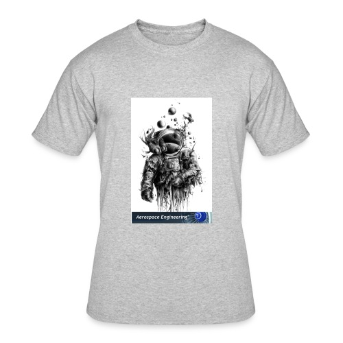 Astronaut Art - Men's 50/50 T-Shirt