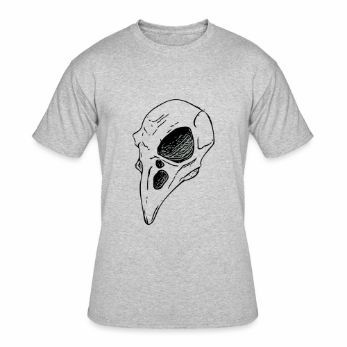 Bird Skull - Men's 50/50 T-Shirt