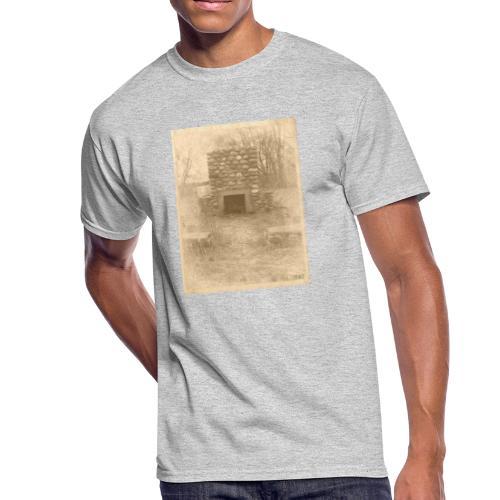 Burning in the Woods - Men's 50/50 T-Shirt