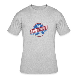 Adventures In Voluntourism - Men's 50/50 T-Shirt