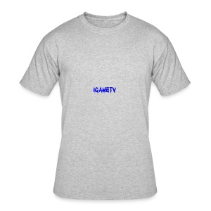 IGAME TV BLUE EDITION - Men's 50/50 T-Shirt