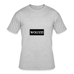 wolfzzishirtlogo - Men's 50/50 T-Shirt