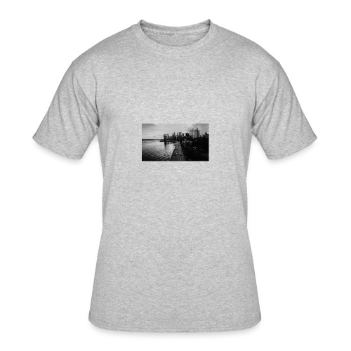 Manhattan Bridge Walkway T-shirt - Men's 50/50 T-Shirt