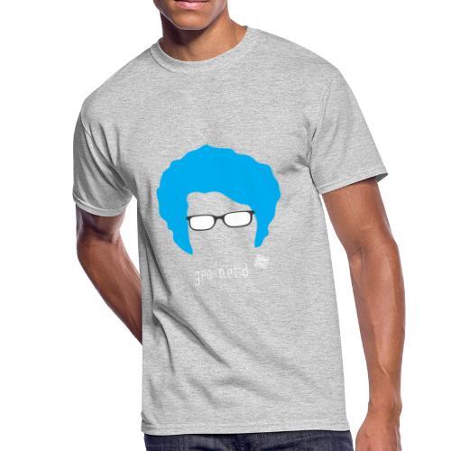 Geo Nerd (him) - Men's 50/50 T-Shirt