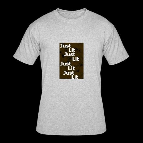 just lit - Men's 50/50 T-Shirt