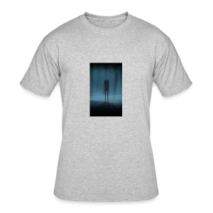 Creepy Forest Person - Men's 50/50 T-Shirt