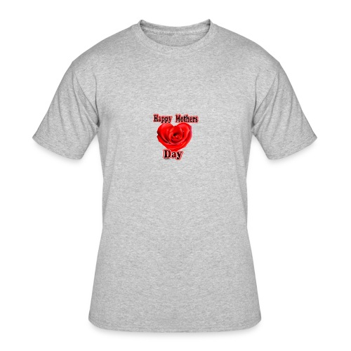 mothers day roses 2018 - Men's 50/50 T-Shirt