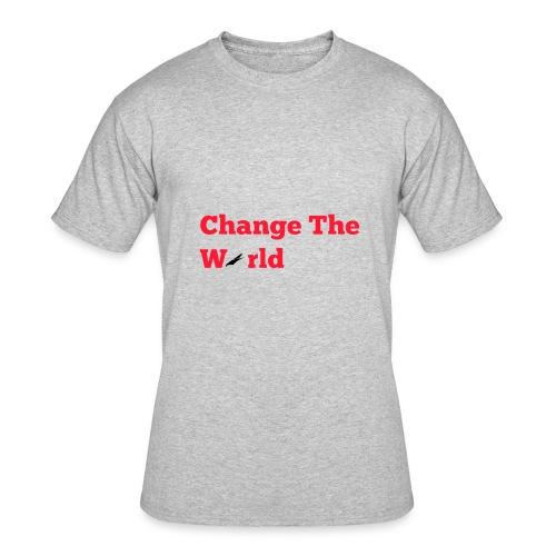 Change The World Falcon Shirt - Men's 50/50 T-Shirt