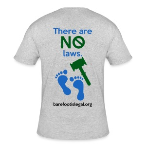 There are NO laws. - Men's 50/50 T-Shirt