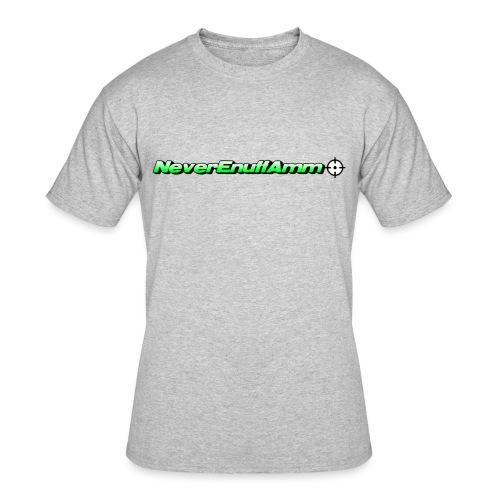 NEA Logo 2 - Men's 50/50 T-Shirt
