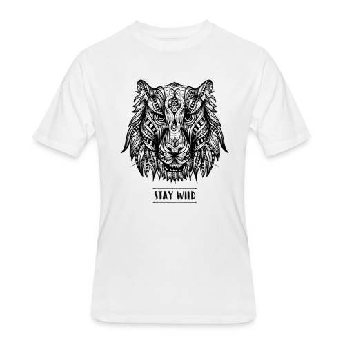 Stay Wild - Men's 50/50 T-Shirt