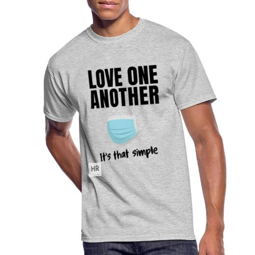 Love One Another - It's that simple - Men's 50/50 T-Shirt