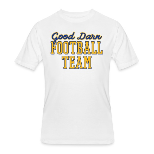 Good Darn Football Team - Men's 50/50 T-Shirt