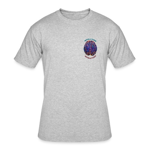 IntellTuss Shirt (pocket design) - Men's 50/50 T-Shirt
