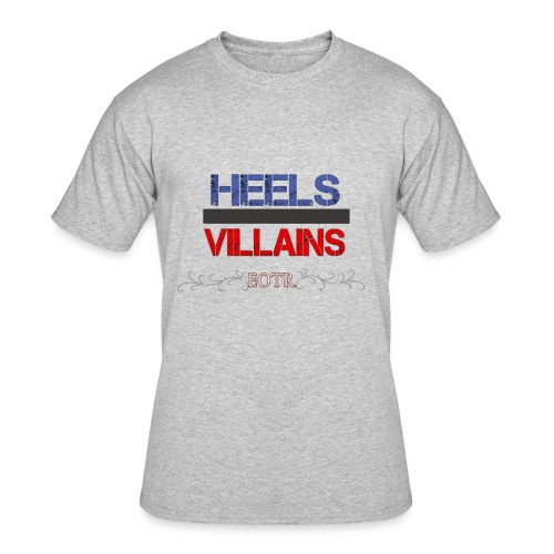 Eyes on the Ring Heels/Villains - Men's 50/50 T-Shirt