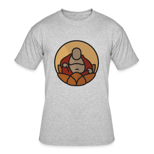 AMERICAN BUDDHA CO. COLOR - Men's 50/50 T-Shirt