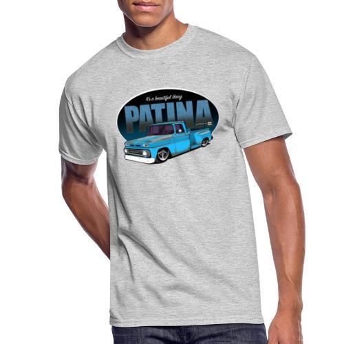 StepsidePatinaBLUE - Men's 50/50 T-Shirt
