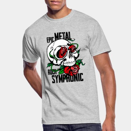 epic rock symphonic - Men's 50/50 T-Shirt