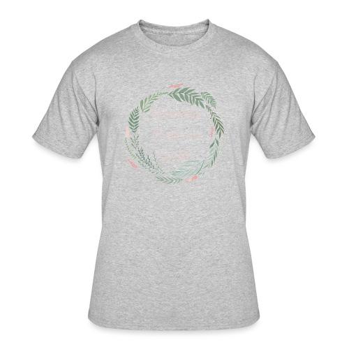 LOD Flower Wreath 1 - Men's 50/50 T-Shirt