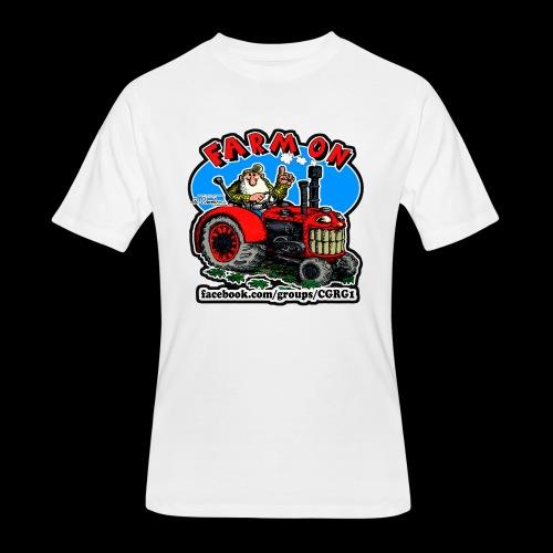 Mr Natural Farm On - Men's 50/50 T-Shirt