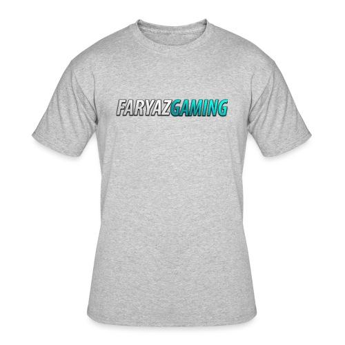 FaryazGaming Theme Text - Men's 50/50 T-Shirt