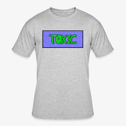 Toxic design v2 Blue - Men's 50/50 T-Shirt