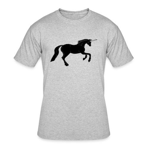 unicorn black - Men's 50/50 T-Shirt