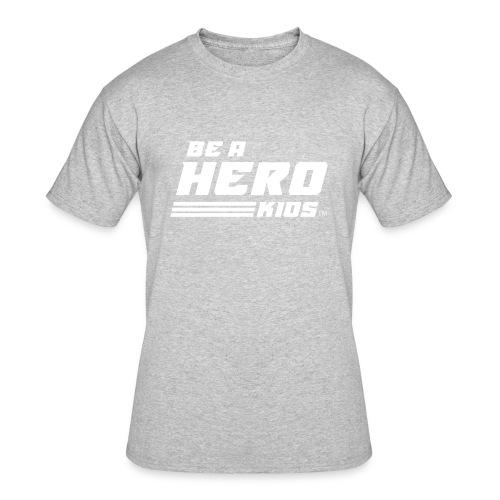 BHK secondary white TM - Men's 50/50 T-Shirt