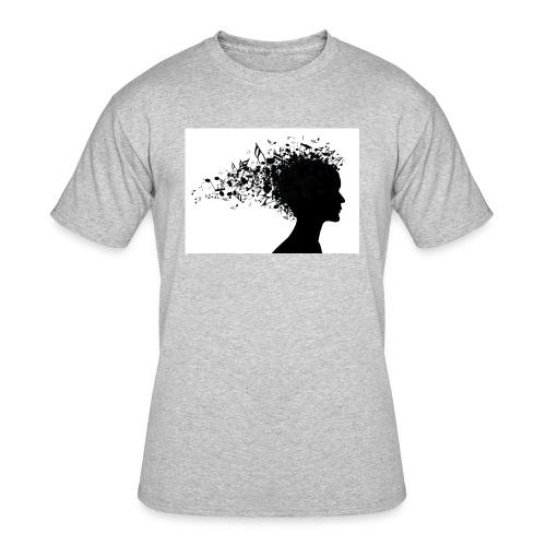 music through my head - Men's 50/50 T-Shirt