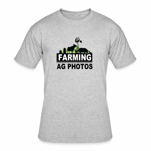 Farming Ag Photos - Men's 50/50 T-Shirt