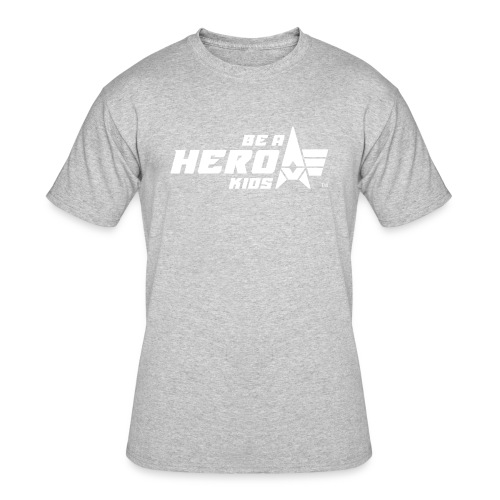 BHK primary white TM - Men's 50/50 T-Shirt